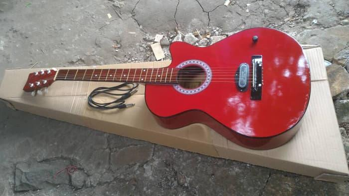 gitar akustik elektrik string spull