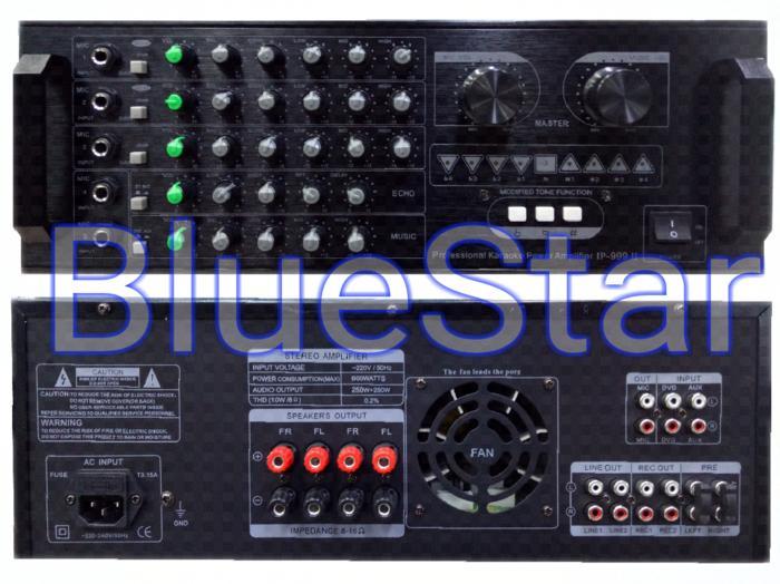ORIGINAL  Power Amplifier Karaoke Linkmaster IP 999 II (600 Watt)