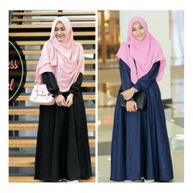 Baju Muslim Gamis Syar'i Busana Muslim Belva Dress