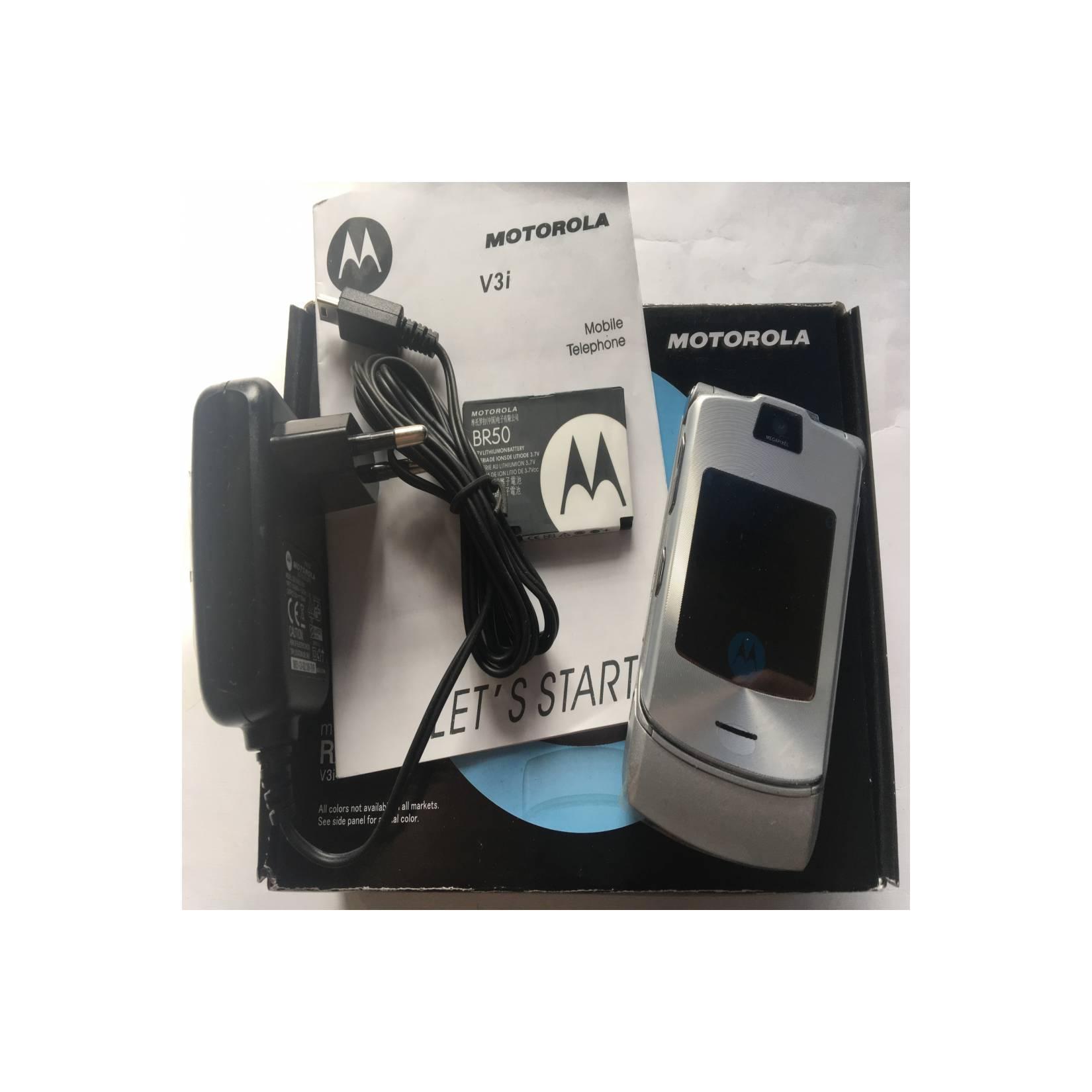 Motorola RAZR V3i Silver - HP Jadul Original