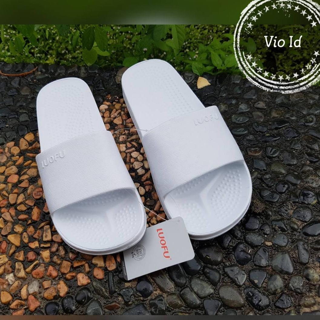 Luofu | Sandal Selop Jelly Wanita - Sandal Wanita Karet Lentur LU01