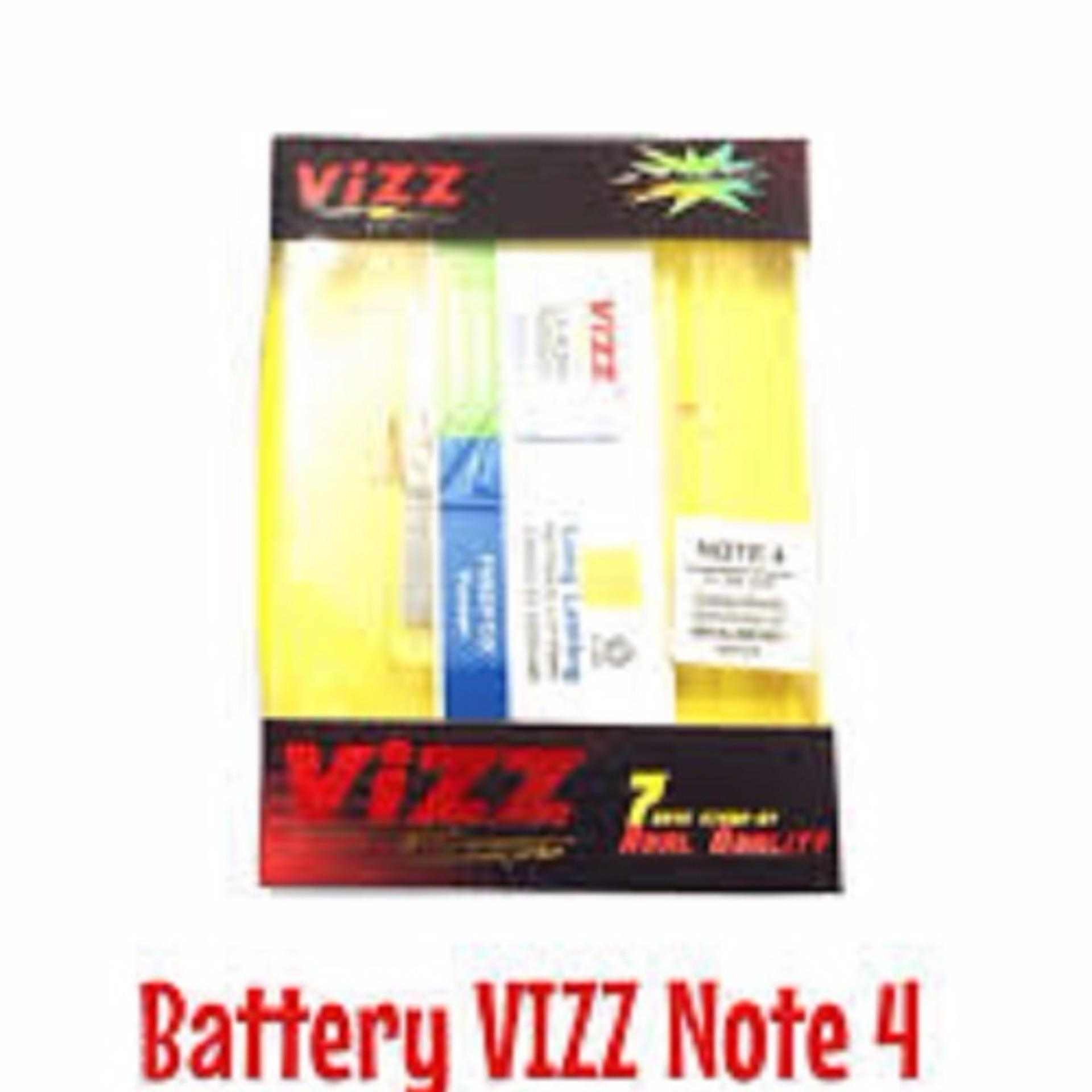 Vizz Battery Batt Baterai Double Power Vizz Samsung Note 4 China Replika Supercopy
