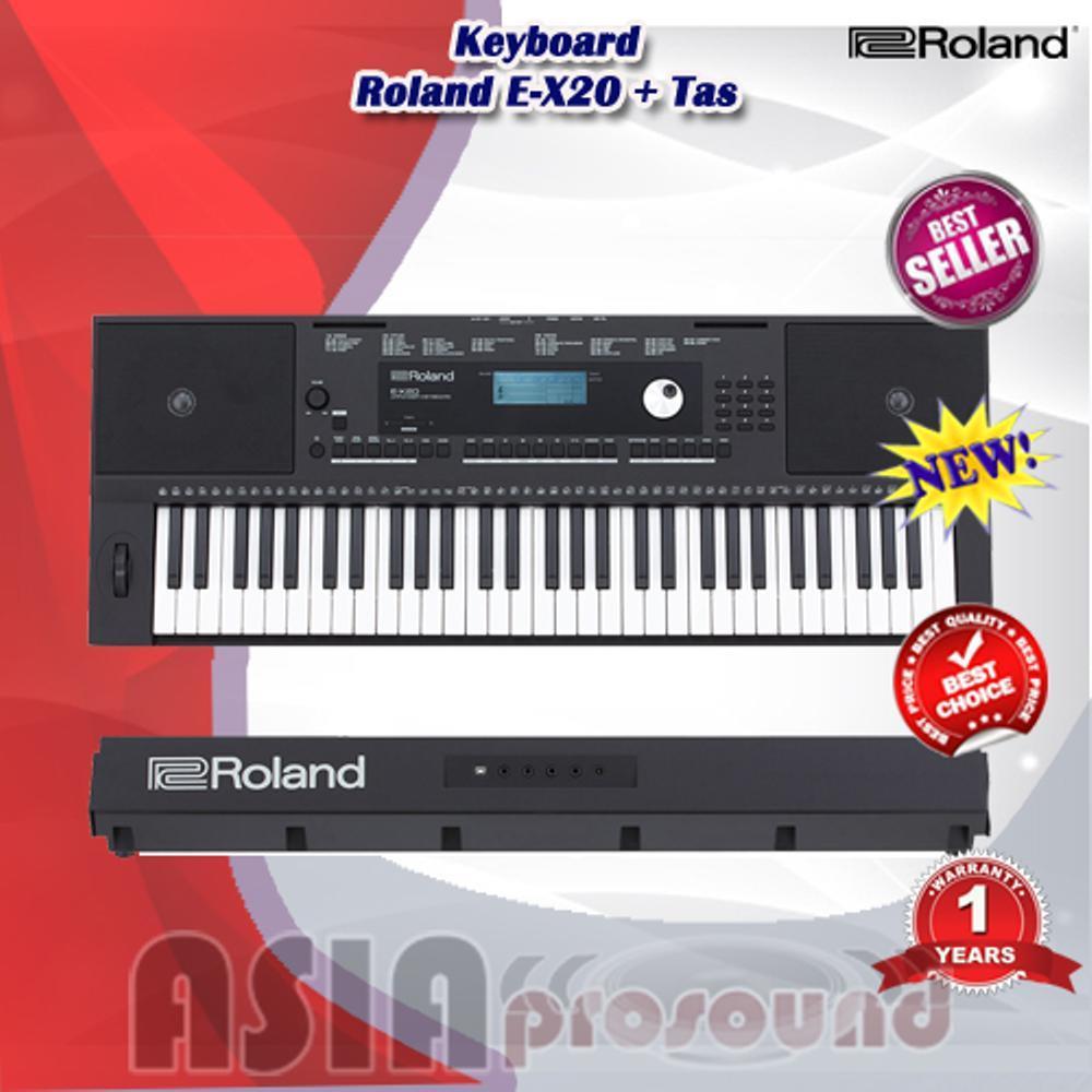 Roland E-X20 - EX20 - E X20 Arranger Keyboard include bag