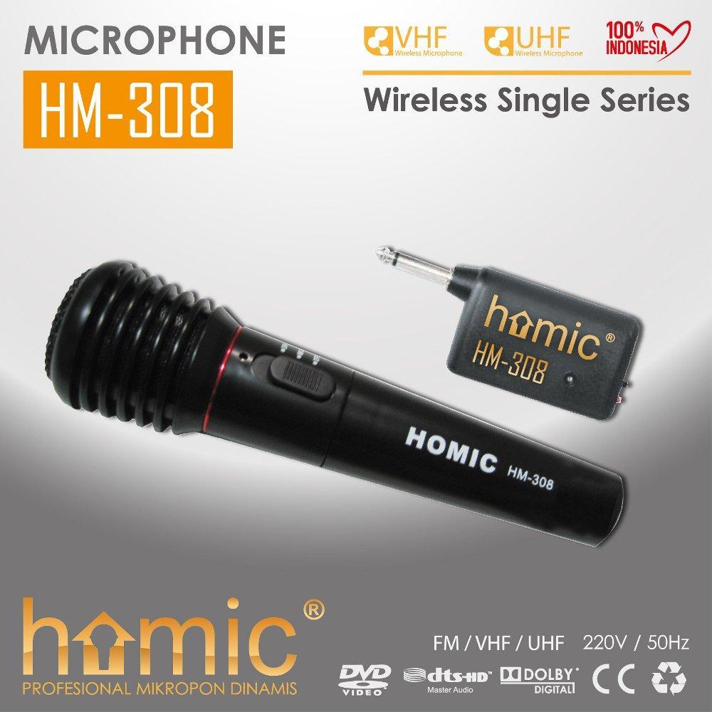 ... Audio Untuk Jantan 2 Betina Bentuk Y Stereo . Source ·. Source · Mic Wireless - Mic Tanpa Kabel - Mic dengan Kabel Homic 308 Single Mic - 2