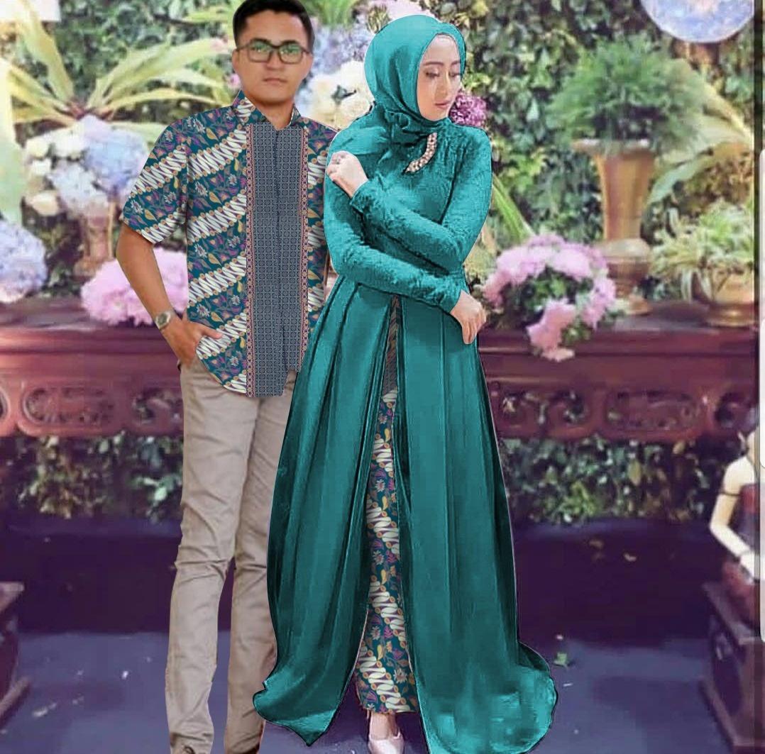 Doublec Fashion Couple Azkia Pakaian Muslim Baju Pasangan Tunic
