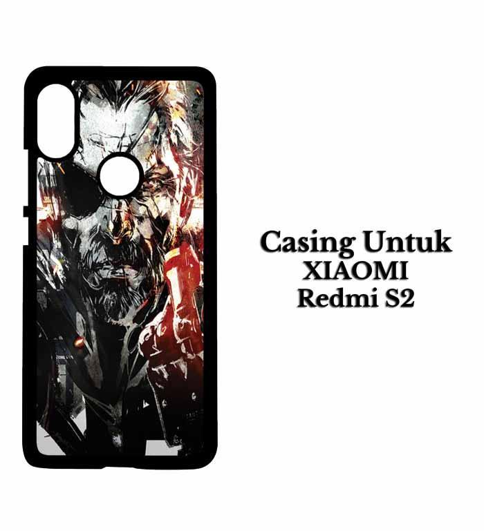 Casing XIAOMI REDMI S2 metal gear solid Hardcase Custom Case Snitchshop