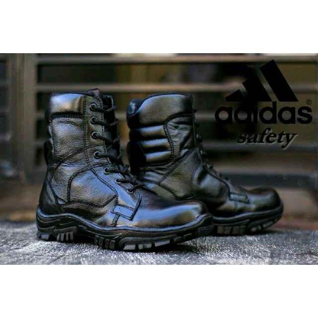 Sepatu Boots Adidas Kuli Safety Kerja Lapangan Outdoor Traking Gunung Pria Murah