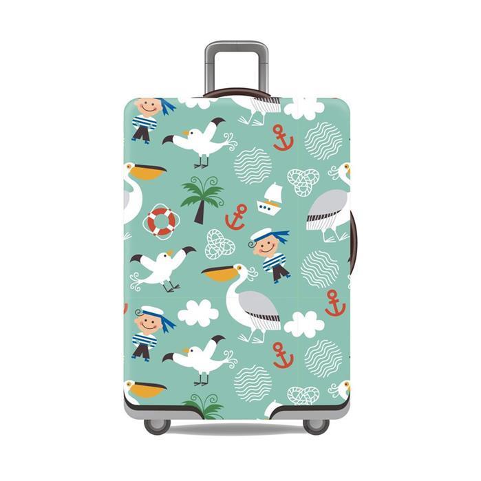 Premium Sarung Koper Elastis Luggage Cover Pelindung Koper Cover Koper MusikIDR128000. Rp 128.000
