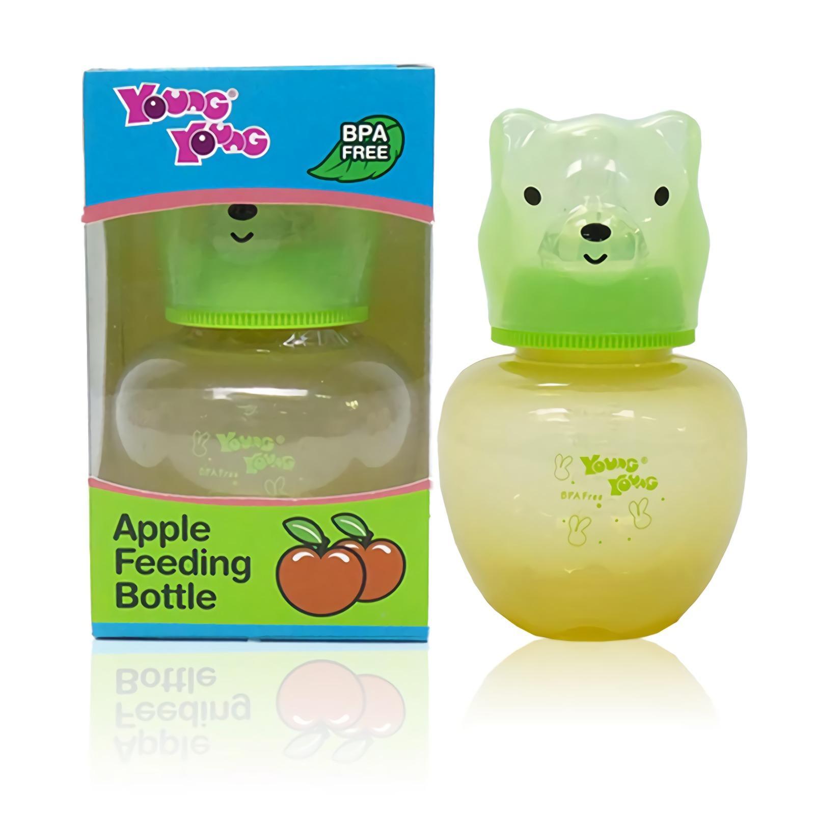 YOUNG YOUNG Botol Susu [160ML] Apple Feeding Bottle Asi BPA Free IL-816