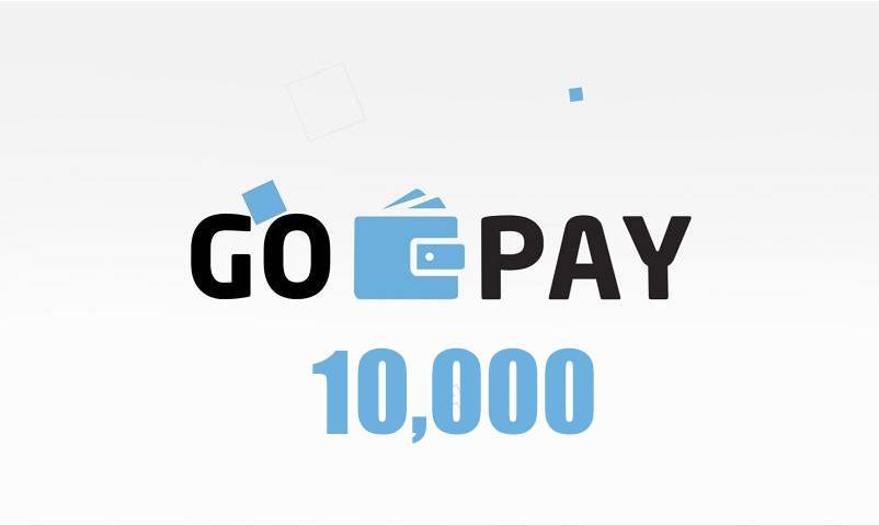 Saldo Gopay isi ulang 10000