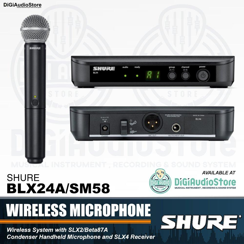 Buy Sell Cheapest Mic Microphone Shure Best Quality Product Deals Urd 9 Wireless Black Series Body Metal Blx24 Sm58 Handheld Vocal