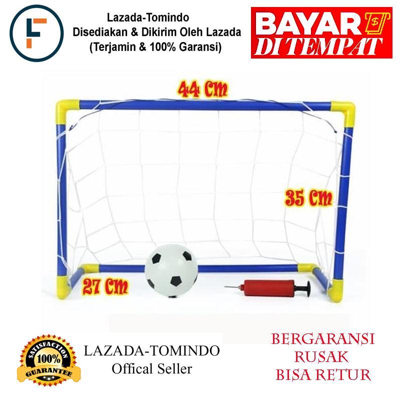 Tomindo Soccer Game Dn101 / Gawang / Sepak Bola / Gawang Bola / Mainan Olah Raga By Tomindo.
