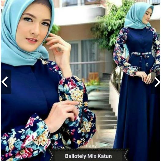 Rp 149.800 TotallyGreatShop Fashion Busana Muslimah Balotelly - Gamis Pesta Cantik ...
