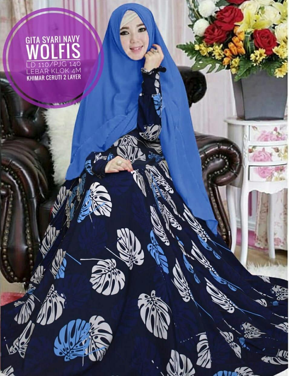 Harga Jual Promo Hijab Jilbab Khimar Syari Jumbo Kinari 3 Layer 3layer Ori Grosir Hasanah Gamis Gisya 2in1 Set Arlita Fashion Baju