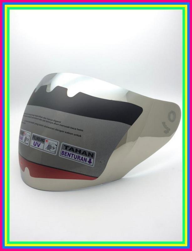 Kaca Helm Ink Centro Kyt Dj Maru Kyt Galaxy Silver Limited Edition