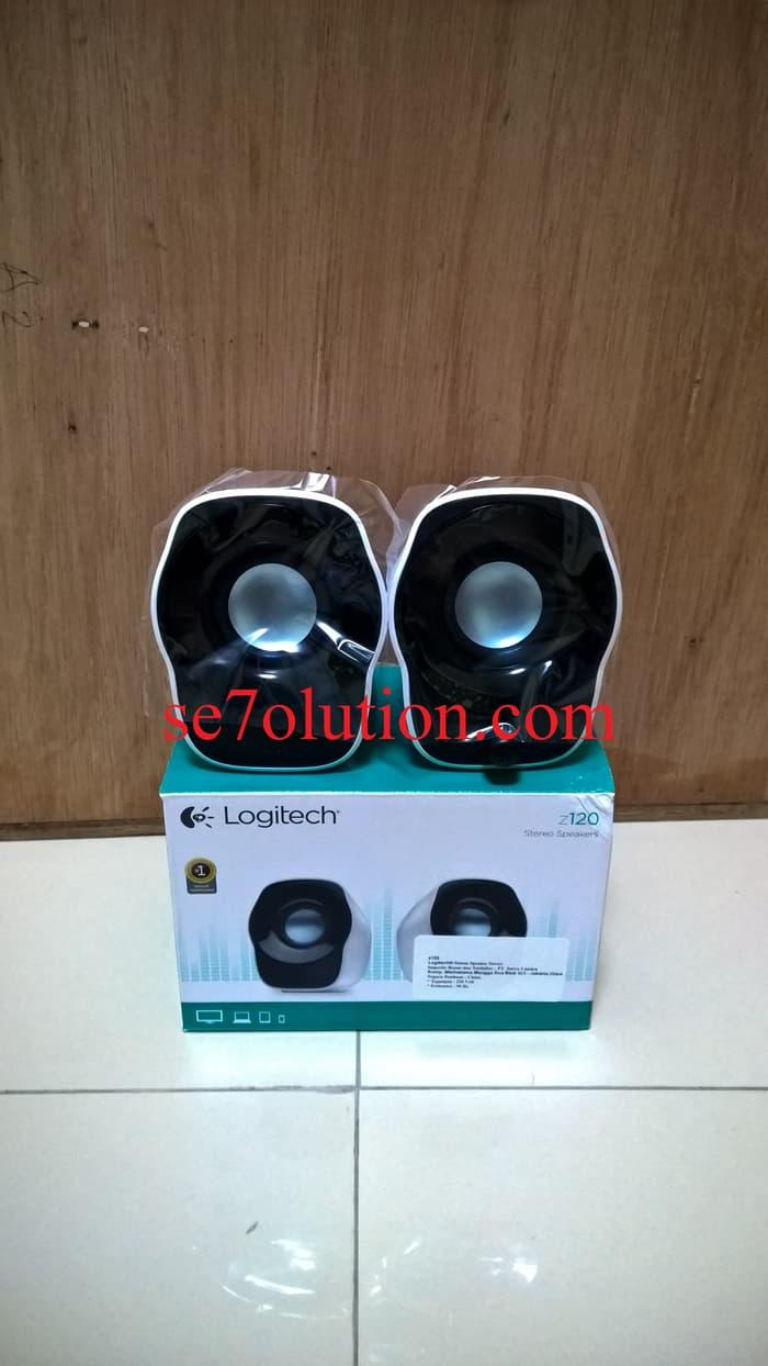 Buy Sell Cheapest Terbaru Logitech Z120 Best Quality Product Deals Stereo Speakers Ready Stock