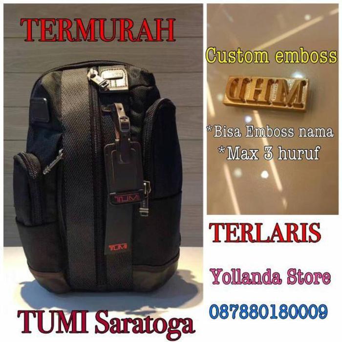 Backpack Pria Tas Pria tumi saratoga mirror quality premium tumi bag backpack tumi