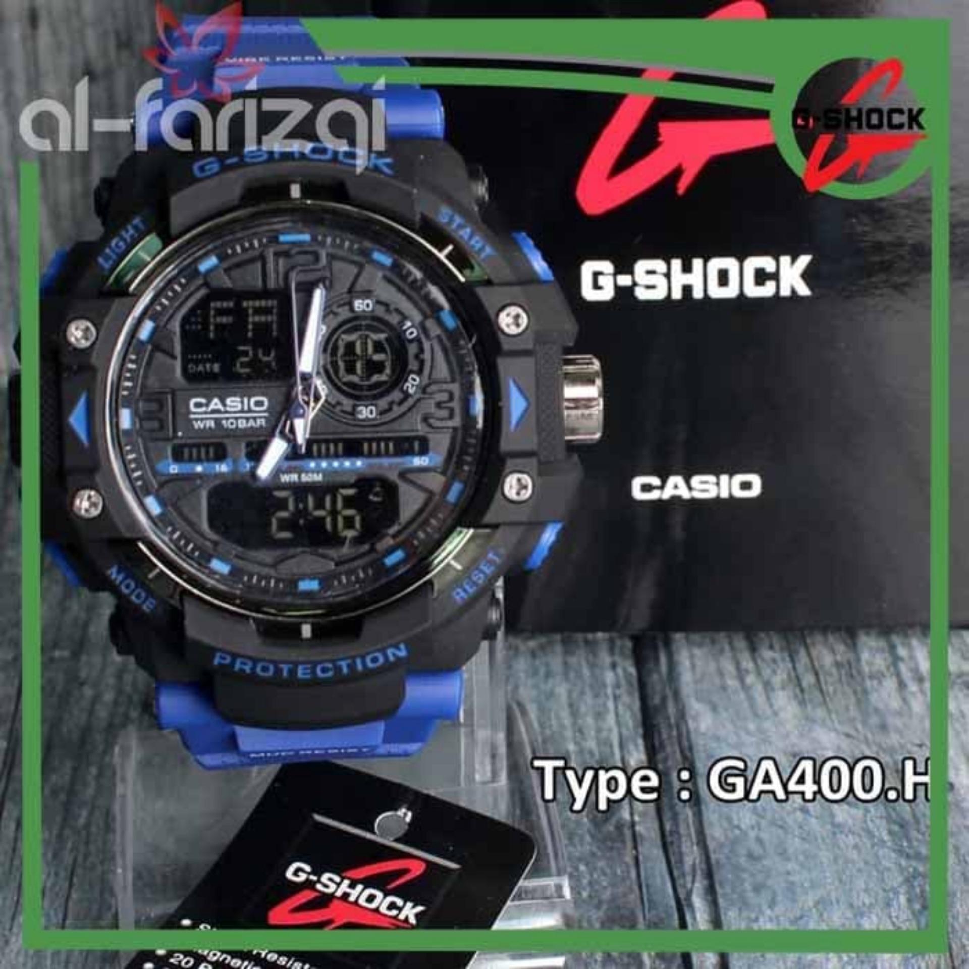 Jam Tangan Casio G-Shock Dual Time Digital Sporty Outdoor Skmei Eiger