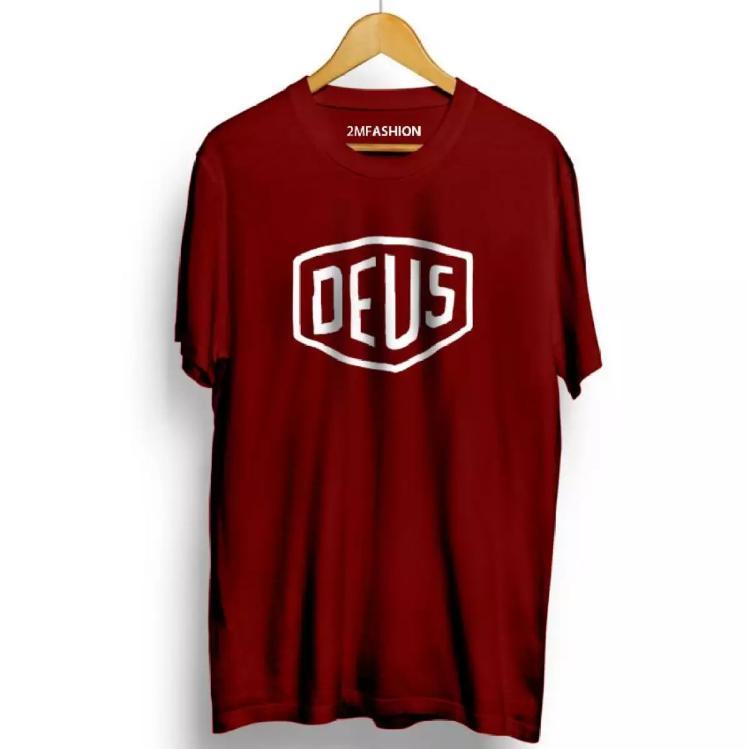 Kaos Distro DEUS - Tshirt Premium DEUS