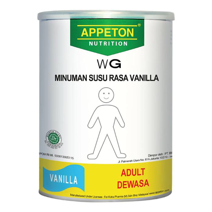 ASLI!!! Appeton Weight Gain Vanilla 450 gr - FU4Rhd