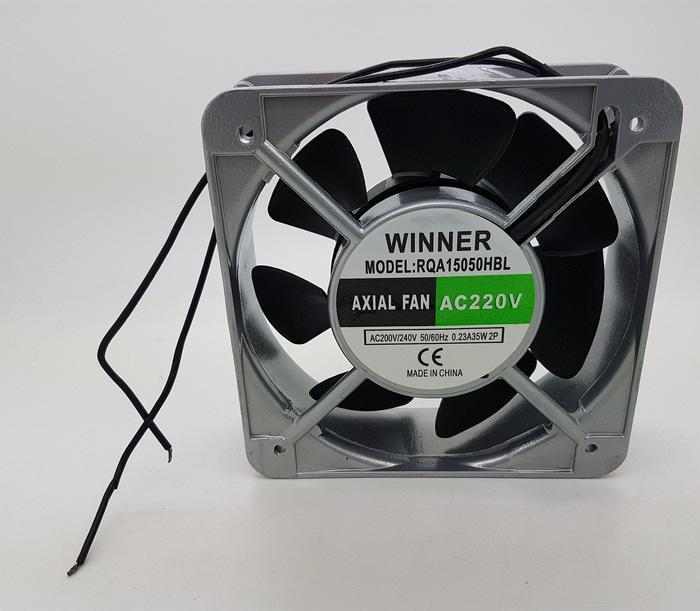 BARU Kipas Fan panel WINNER AC 220V 15X15 cm with Ball Bearing LX 1500