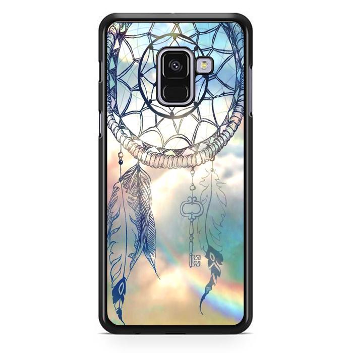 Casing Hardcase Samsung Galaxy A8 Plus 2018 Motif Dream Catcher Art Key V1848