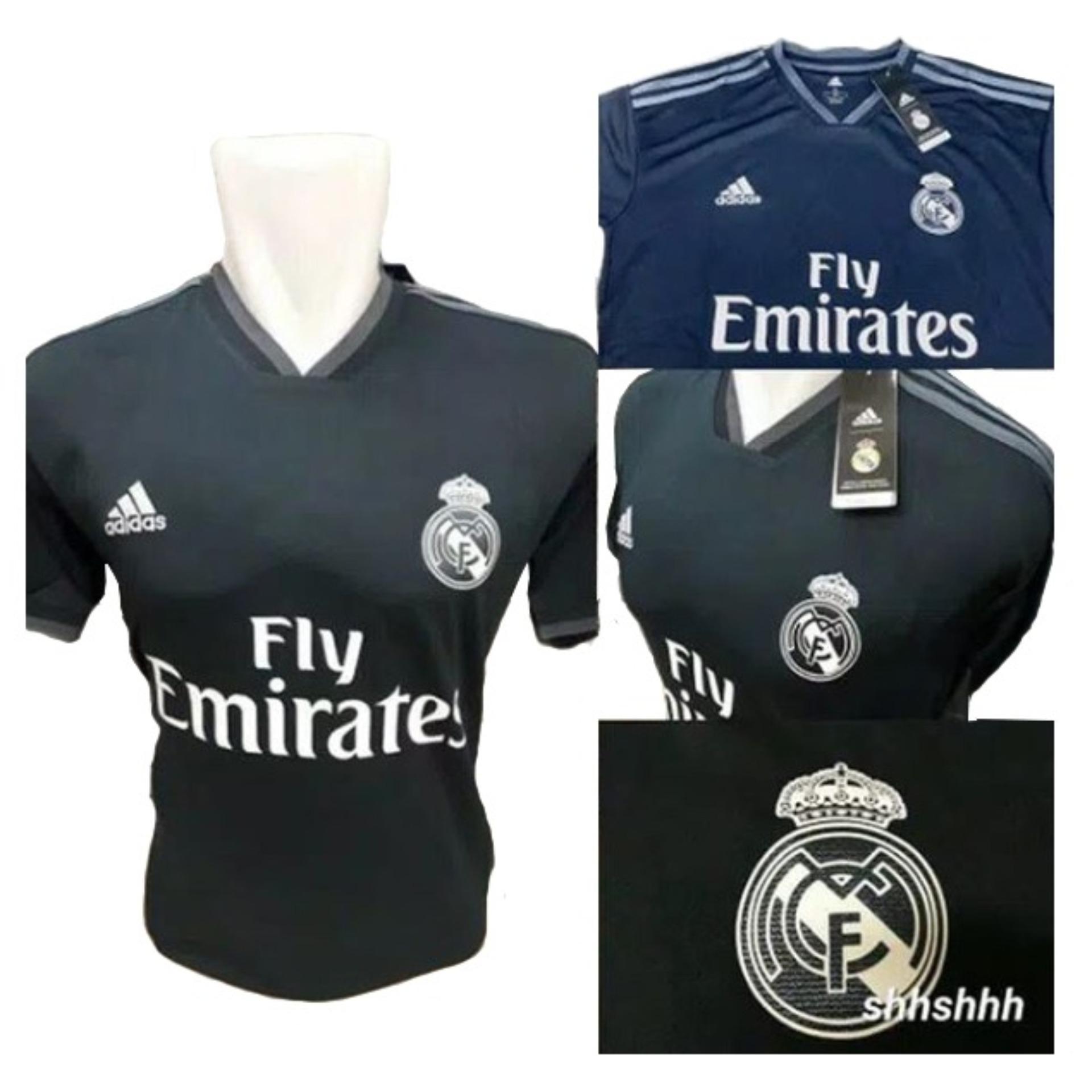 Bo Sport Jersey Olahraga Real Madrid Away 18 - 19
