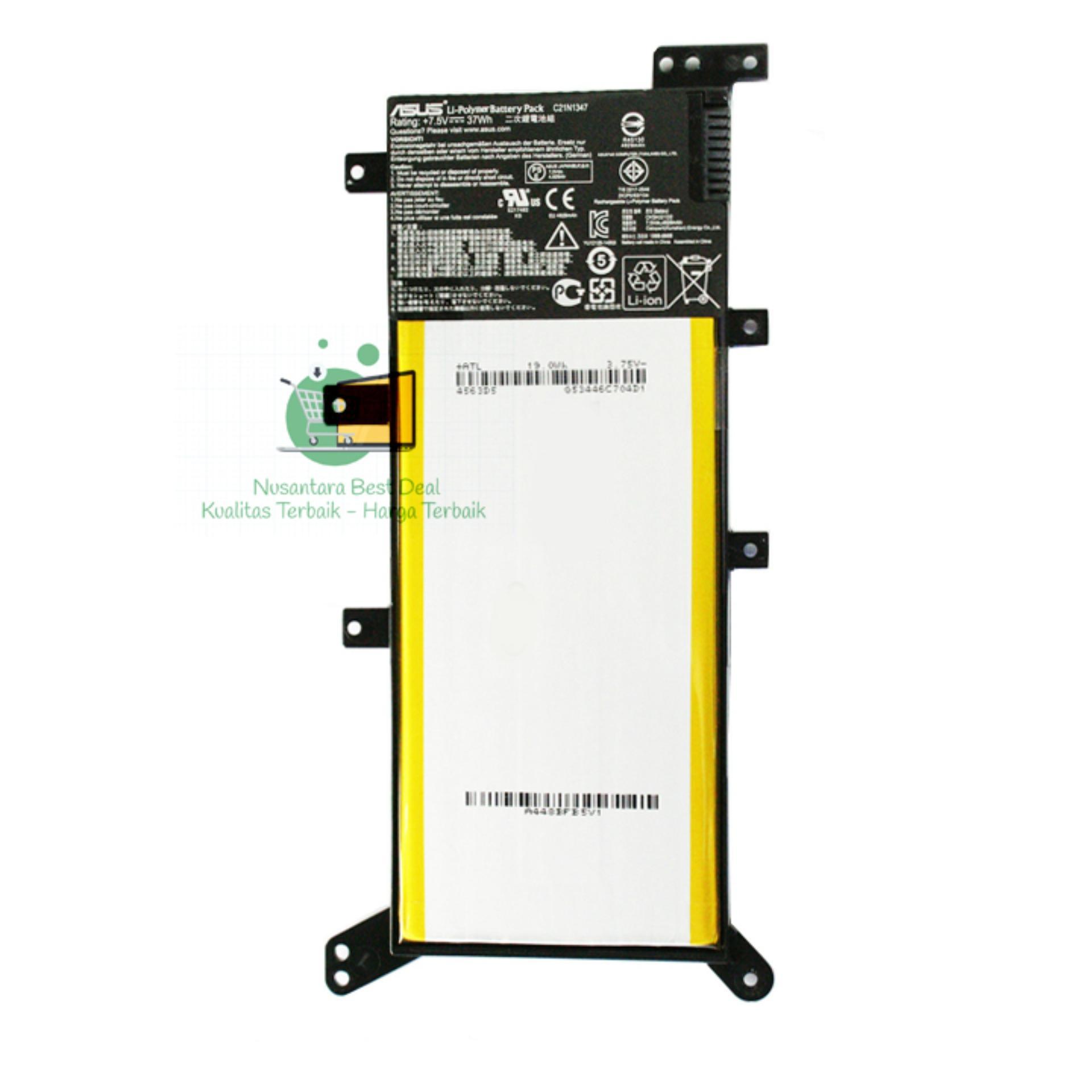 Baterai / Batre Laptop Asus A455L X455L A555L X555L C21N1347 Ori