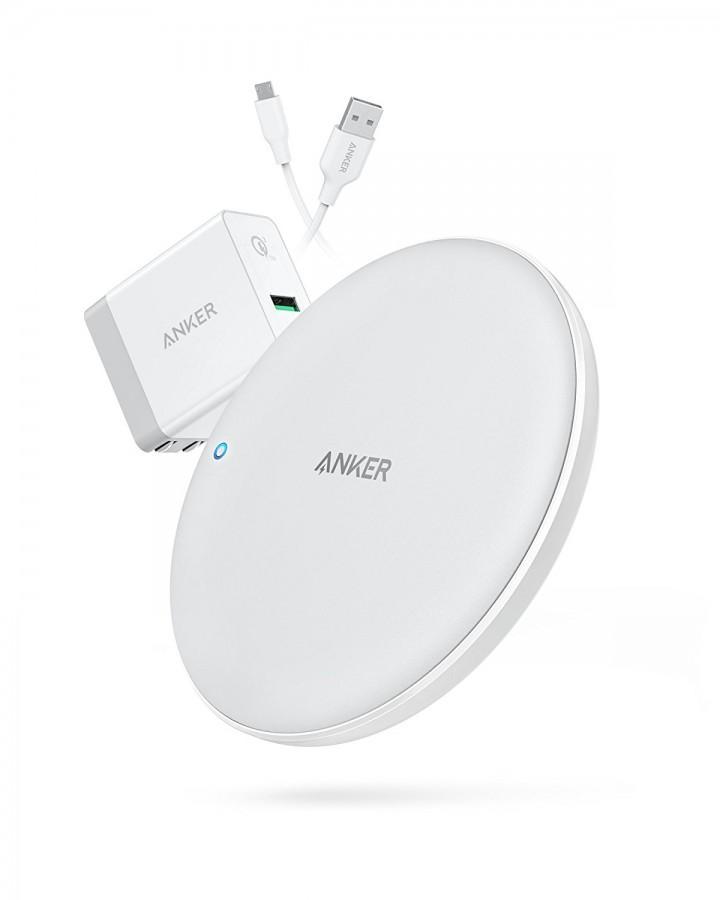 ANKER B2514121 PowerWave 7.5W PAD Bundling 3 in 1 Wireless Charger