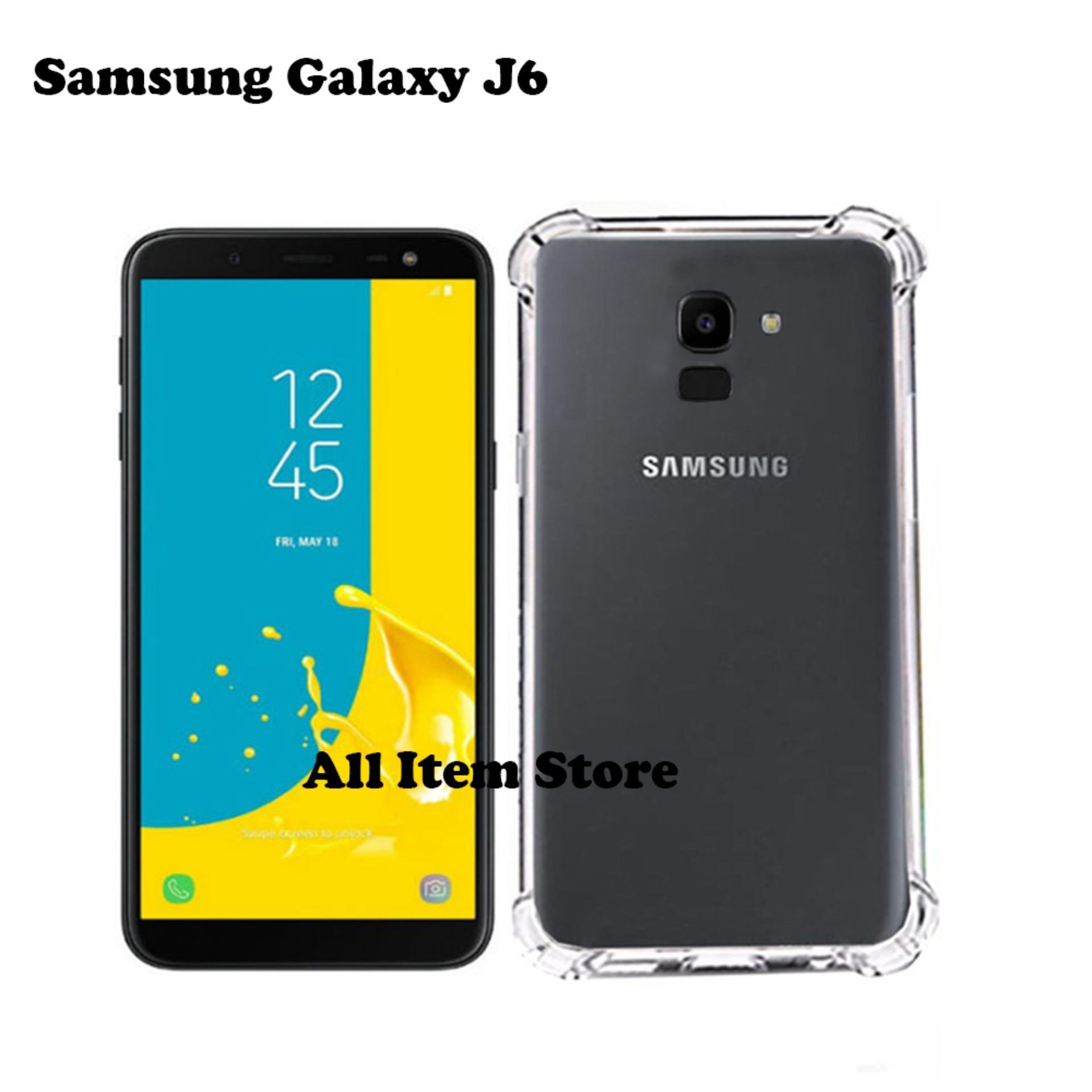 Case Anti Crack / Case Anti Shock Elegant Softcase For Samsung Galaxy J6 2018 - Bening