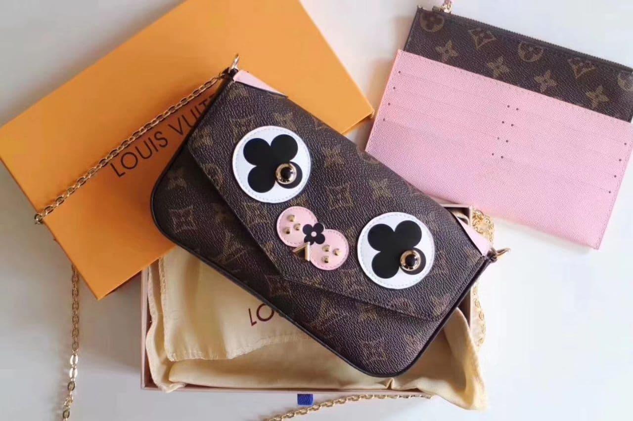 ... tas pesta hardcase cantik dan bagus. Source · LV Felicie Clutch Mirror  Quality Clutch Wanita Branded Cantik with Box fdea73e0d7
