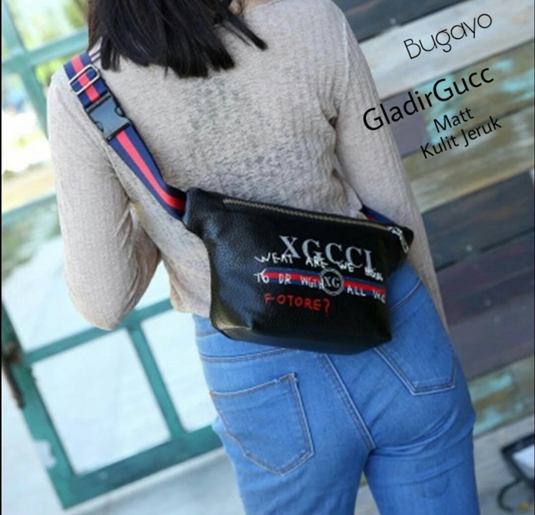 RWD - Tas Wanita Selempang Cewe Waistbag Best Seller / tas model 2018