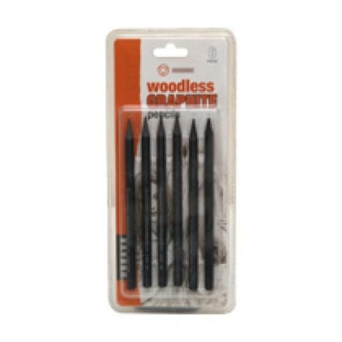 TERLARIS Drawing Pencils 6s Woodless Graphite HB/2B/4B/6B/8B/EE PROMO