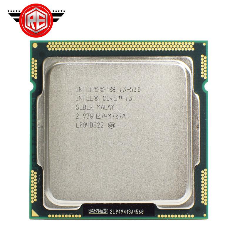 Asli Intel Core I3 530 Processor 2.93 GHz 4 MB Cache LGA1156 Cpu Desktop