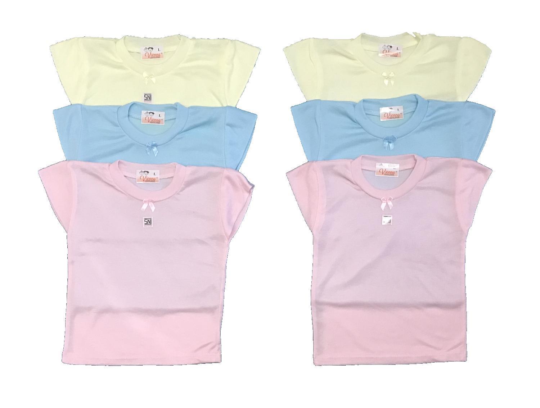 Atasan Kaus Bayi Laki Terbaik Ndal Setelan Singlet Baju Bola Terlaris Bayie 6 Pcs Kaos Oblong Warna Vienna 100 Katun