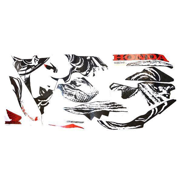 Sticker Body Kanan Stripe Set R Cbr 250rr Kabuki 871x0k64n80zar By Honda Cengkareng.