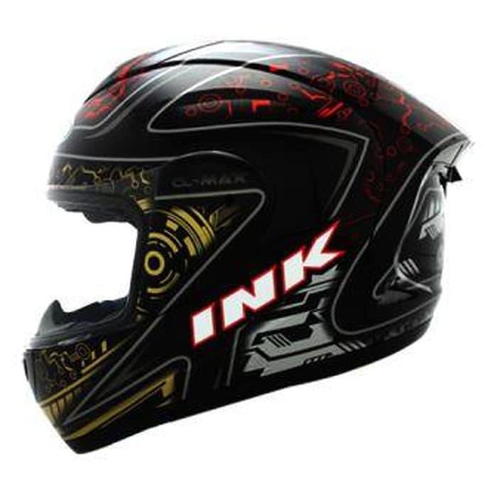 Helm INK CL Max Full Face Fullface Black