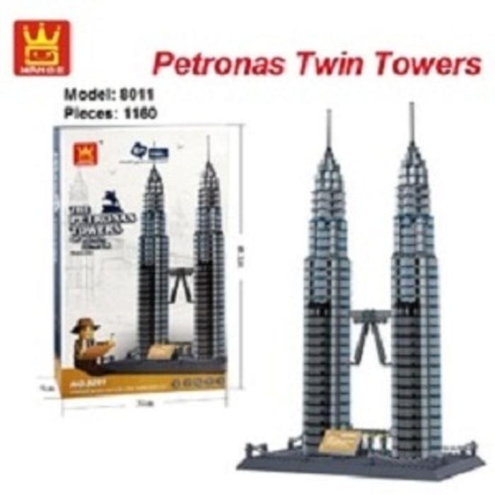 BEST SELLER!!! Block Wange The Petronas Towers of Kuala Lumpur Malaysia - FtjaKy