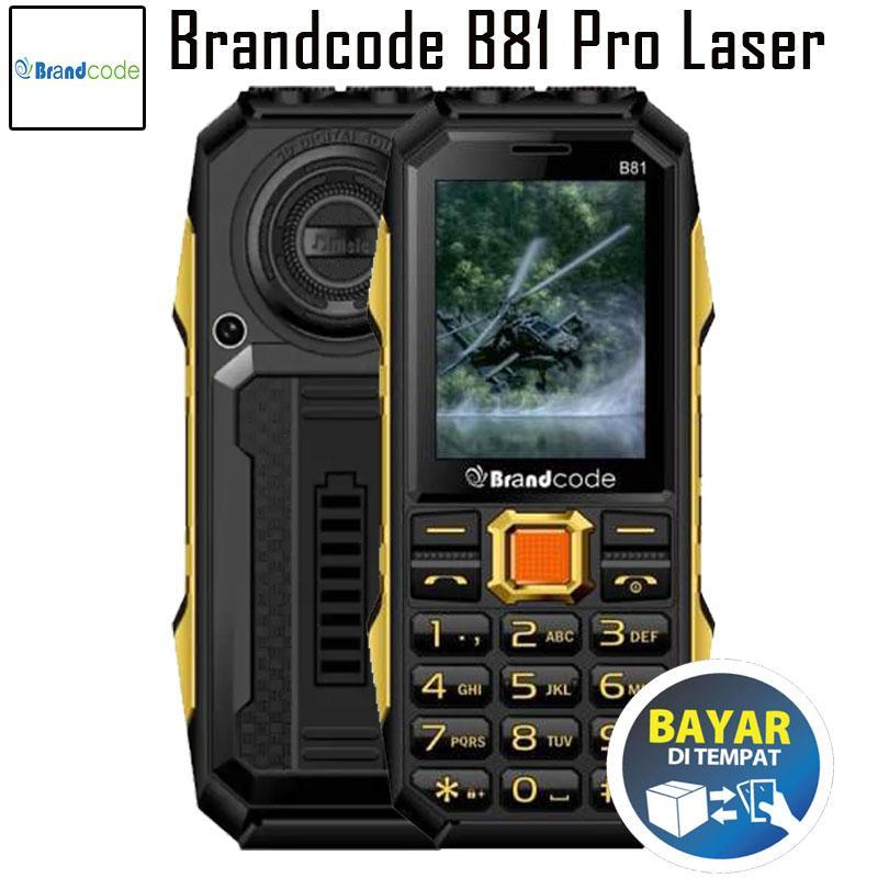 Brandcode B81 Pro Laser - Batt 12000Mah - Garansi Resmi
