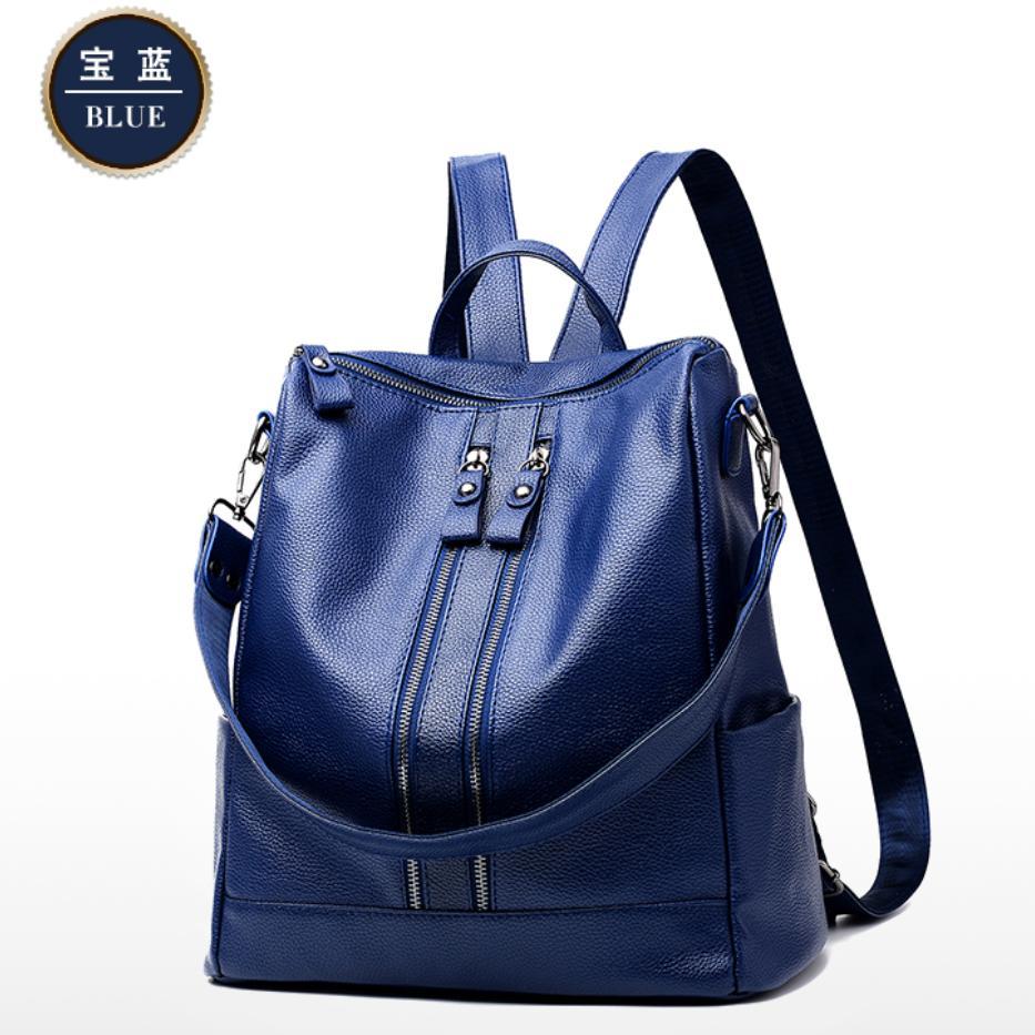 Zelig official Tas Ransel wanita import Branded Backpack Korea Style Elegan/Tas Multifungsi Wanita/Tas Kuliah/Tas Punggung wanita/Tas Kerja/Tas Brended/Batam Bag High Quality