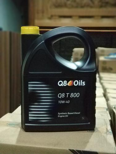 OLI Q8 T800 10/40W 5LITER / AKSESORIS MOTOR / MOBIL / VARIASI / BERKUALITAS / OTO-A3323