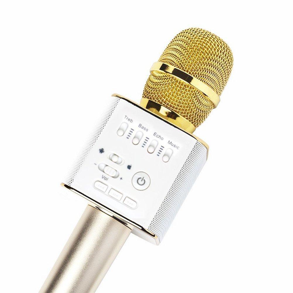 Mikrofon Wireless Kabel Terbaik Mic Bluetooth Karaoke Smule Wster Ws 858 Original