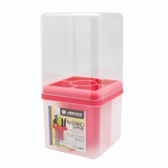 Harga preferensial Arniss - CH-0115 C Kitchenware Bistro Allure - Merah terbaik murah -