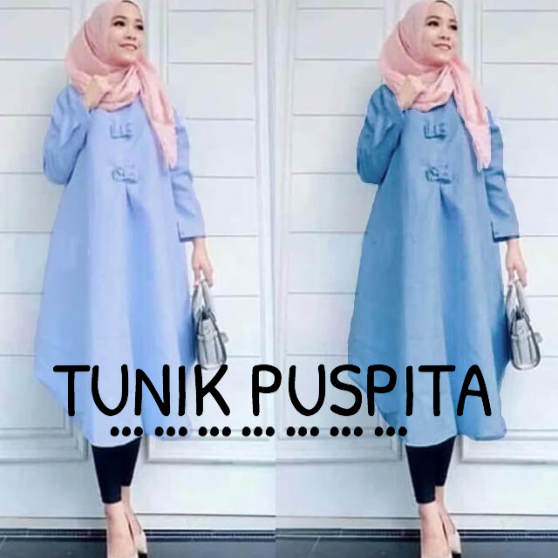 GA Fashion Tunik Pita Denim Muda