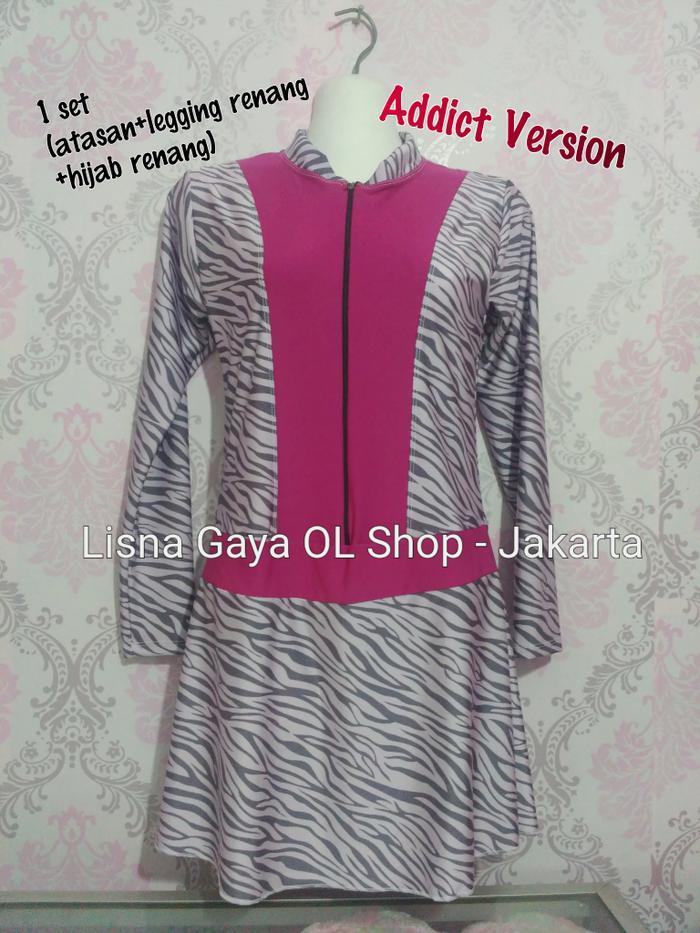 #k86 Baju renang dewasa muslimah? baju renang wanita hijab