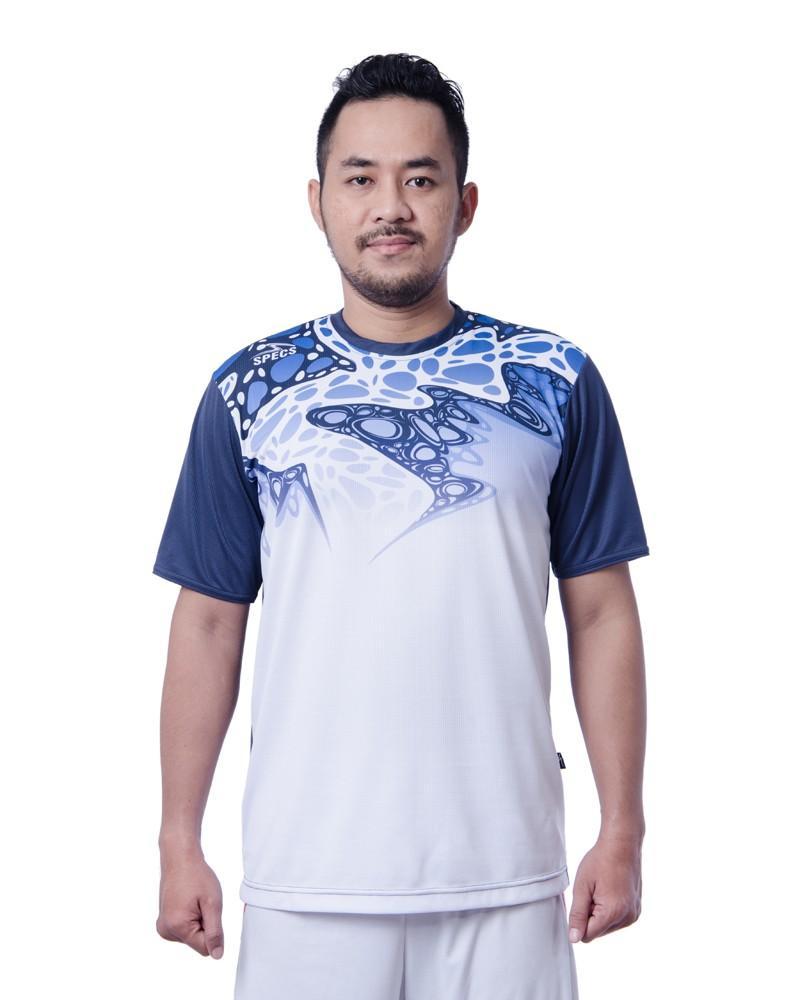 Specs Jersey Badminton Baldr Bd Jersey - White Bash Blue
