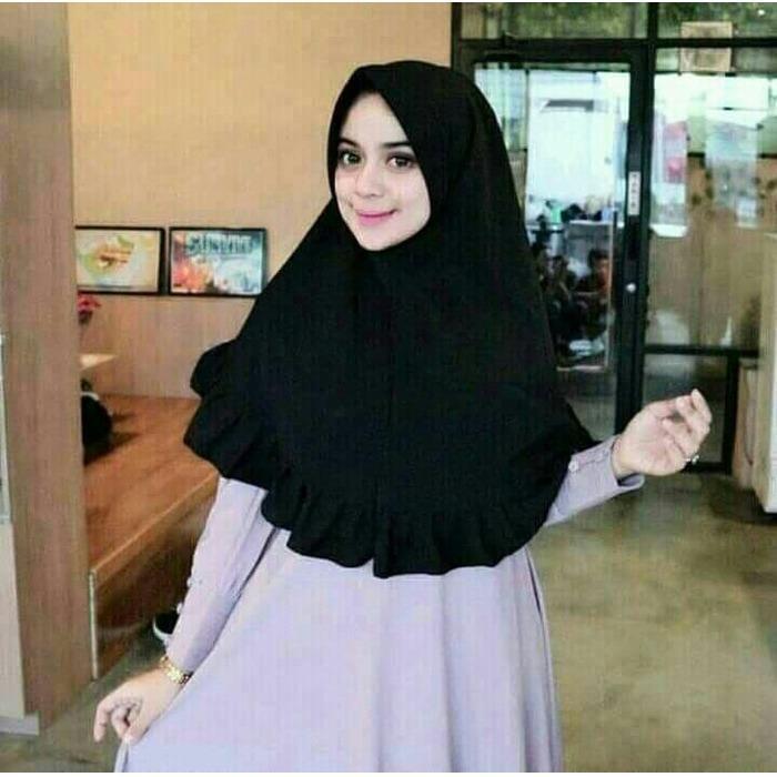 Baby Talk Club Hijab Jilbab Instan Khimar - Kerudung Jilbab Instan Fashion Muslim Hijab Jilbab Instan Syari Khimar Polos Pashmina Polos Hijab Modern Hijab Kekinian Hijab Daily Khimar Hijab Kekinian