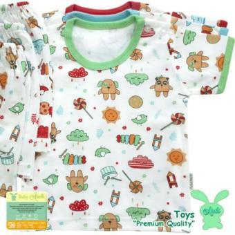 Pencarian Termurah Aruchi Setelan Piyama Bayi / Baju Bayi / Baju Tidur Bayi - Unisex - Oblong Pendek - Kancing Bahu - Babyklik harga penawaran - Hanya Rp32. ...