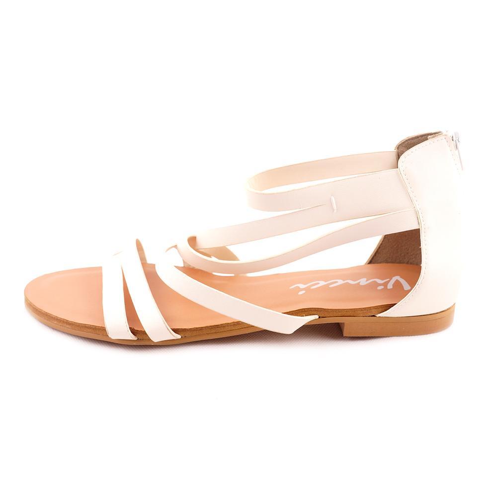 ZWV 31087 Simple White Sandal Vincci Original