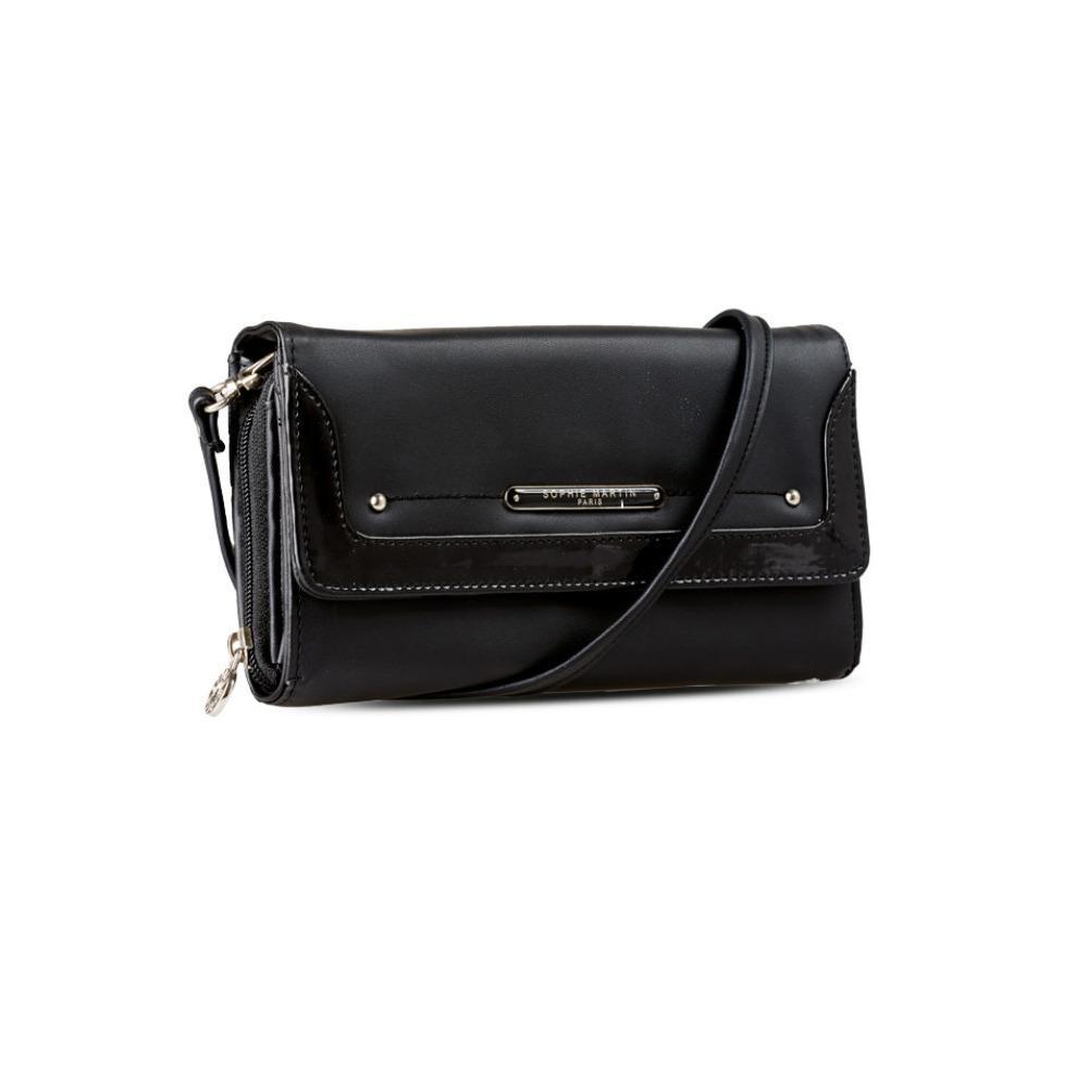 Dompet terbaru wanita warna hitam bisa selempang bagus murah dan berkualitas othain wallet dsm1821 dari sophie paris